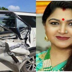 Khushbu sundar car accident