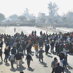 Farmer protest delhi haryana