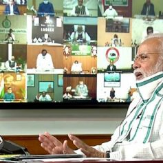 Pm modi review meet with states