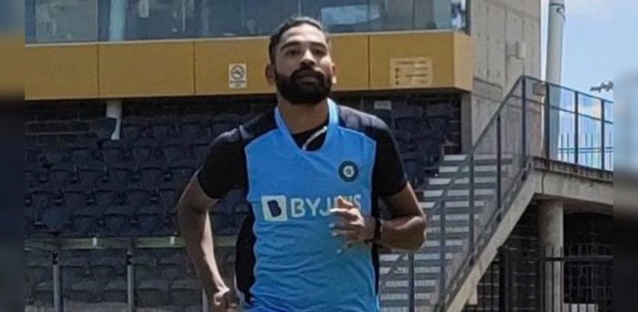 Pacer Mohammed Siraj loses