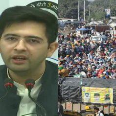 Farmers protest raghav chadha says