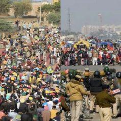 Farmers reaching delhi
