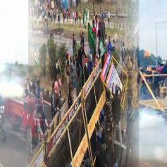 Farmers protest punjab haryana