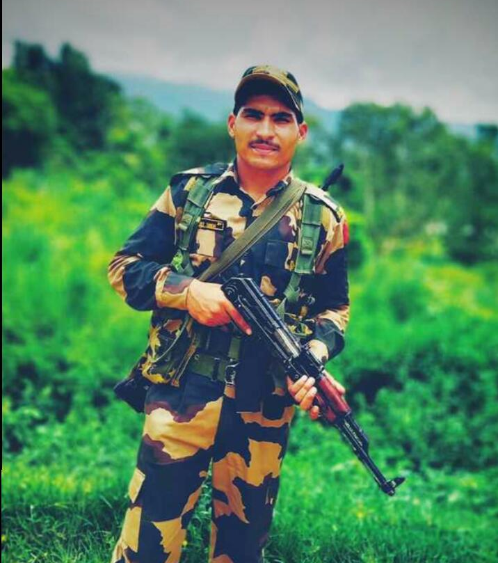 BSF Jawan came on leave