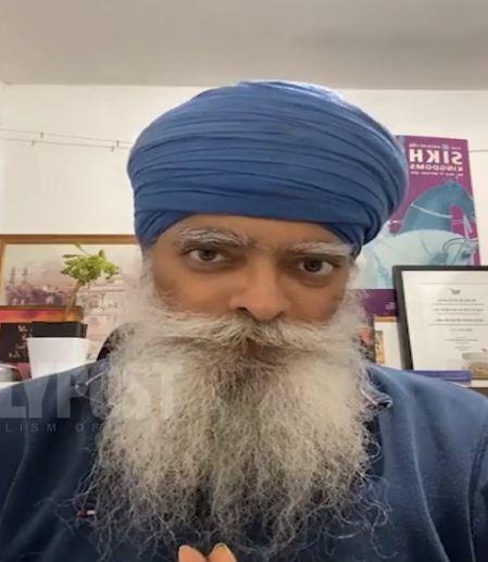 Khalsa Aid Founder Ravi Singh