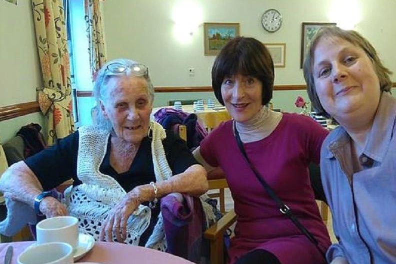 Woman celebrates 100th birthday