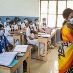 corona reaches schools