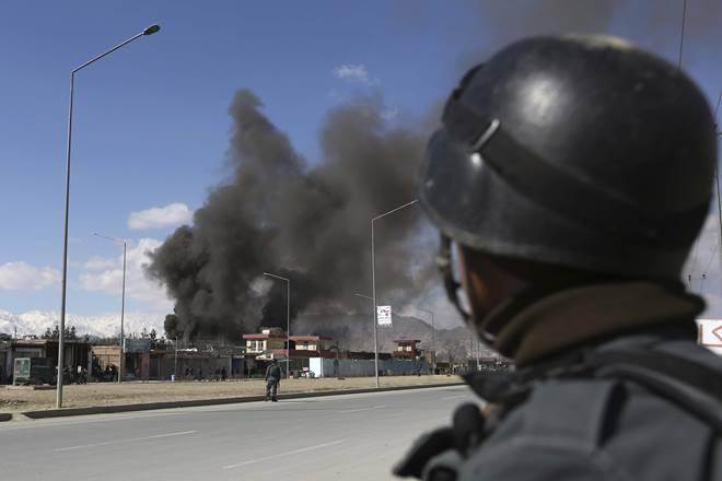 Multiple Blasts Rock Kabul