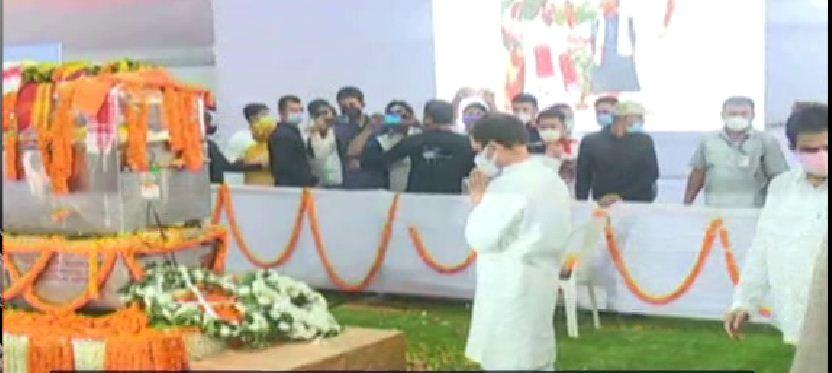 Rahul Gandhi reached Guwahati