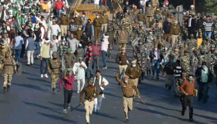 Singhu Tikri border closed