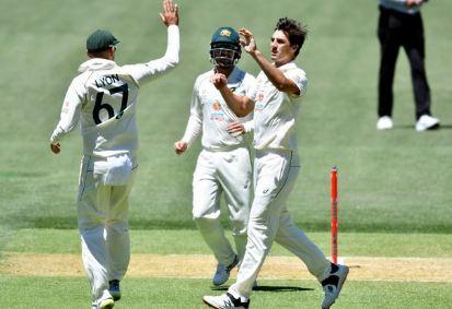 Australia start batting