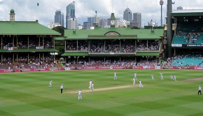 Aus vs ind melbourne cricket ground