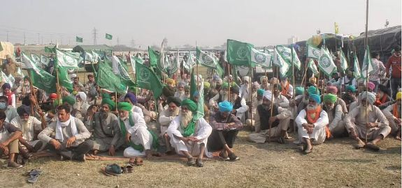 Delhi farmers protest