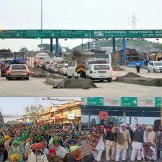 Farmers protest haryana