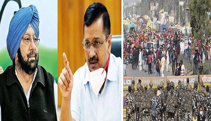 Kejriwal attacks on punjab cm