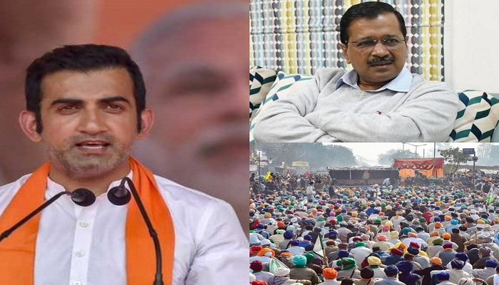 Gambhir attacks on kejriwal