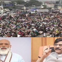 Farmers protest sanjay raut