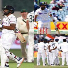 IND vs AUS Pink Ball Test Match Live Score