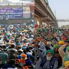 Farmers protest aap and congress