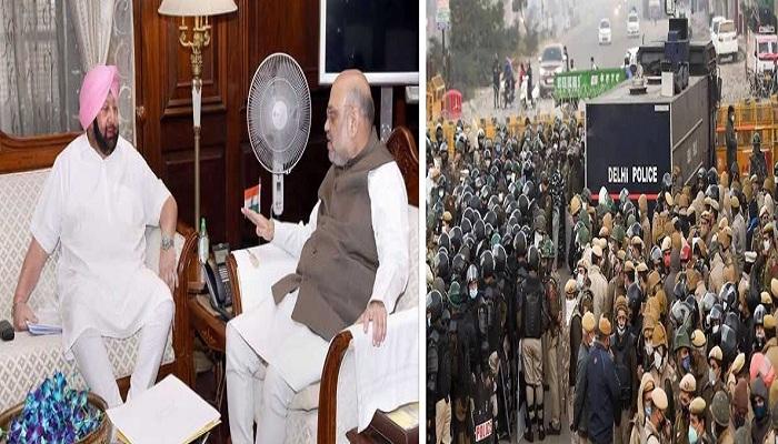 Amarinder singh to meet shah