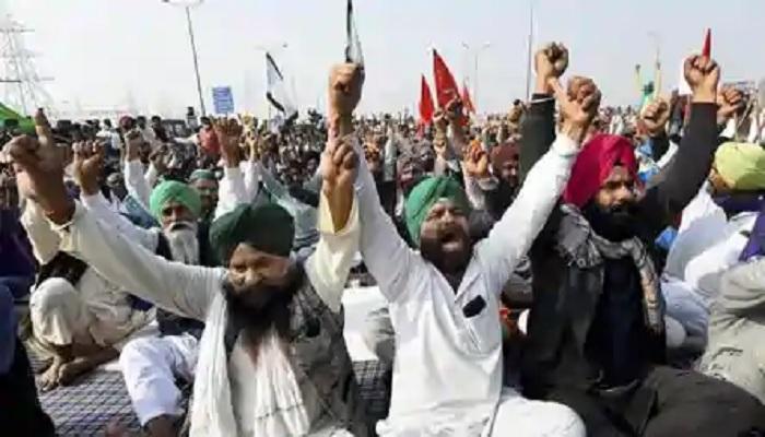 Beatings of farmers marching in Delhi
