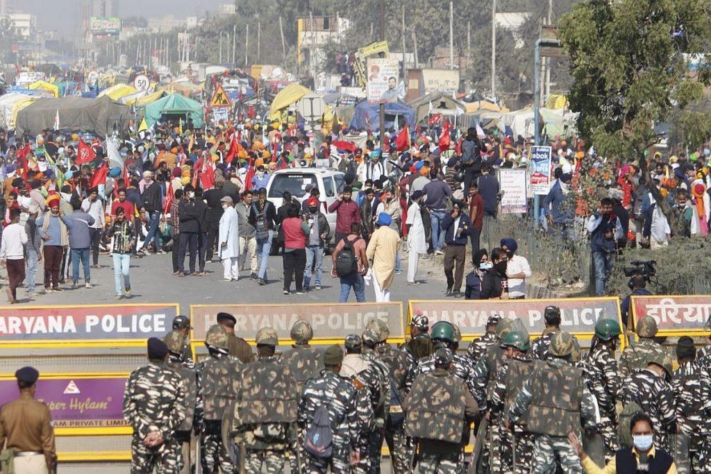 Delhi bordersb security increased