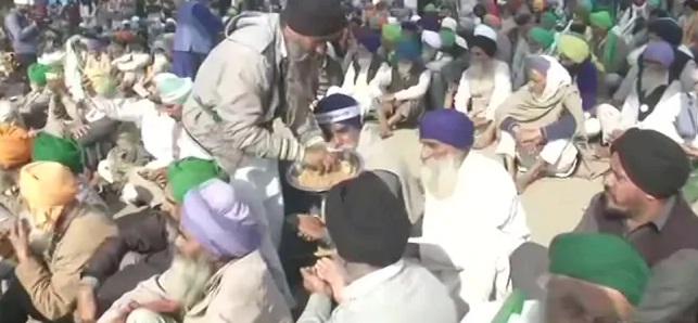 Farmers celebrate Gurpurab