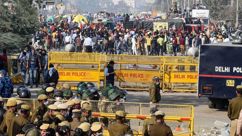 Delhi Borders Closed