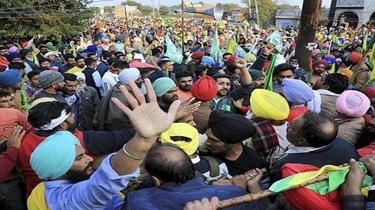 Farmers protest updates