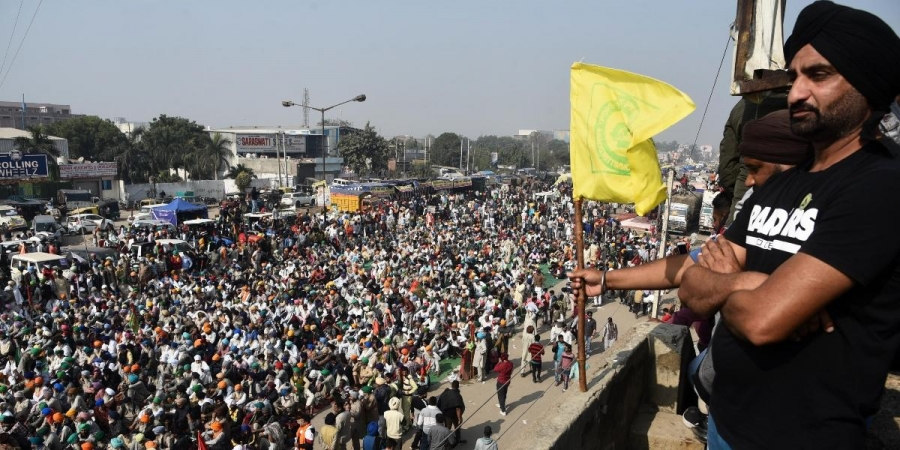 Farmers protest enters 12th day