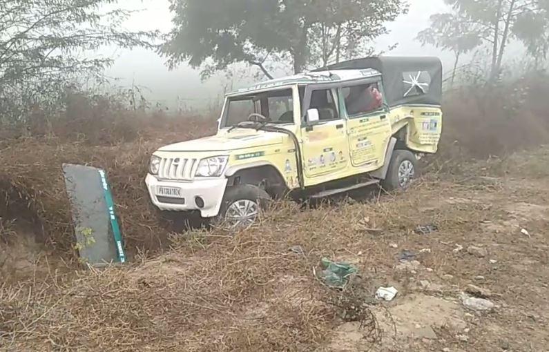 bathinda national highway accident