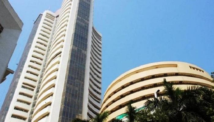 Sensex declines after sharp