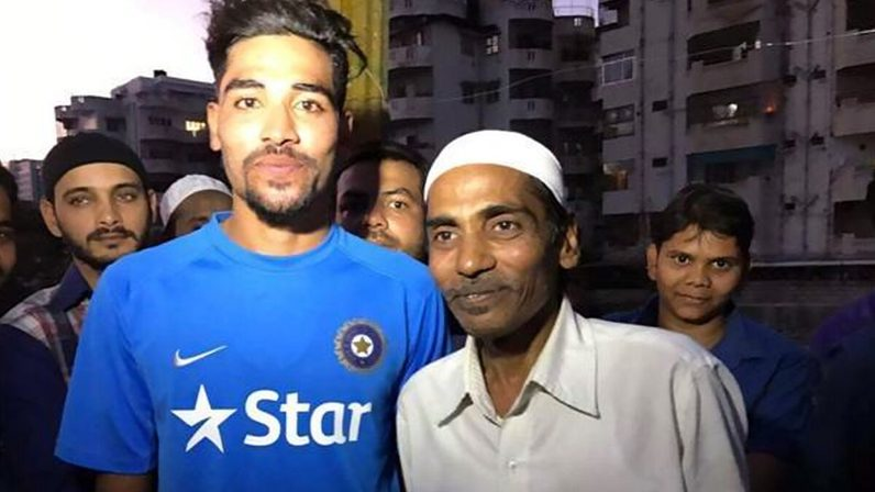 Mohammed siraj arrives directly