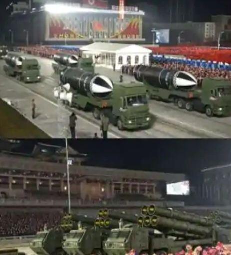 Kim Jong showed his strength