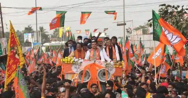 Bengal bjp workers arrested