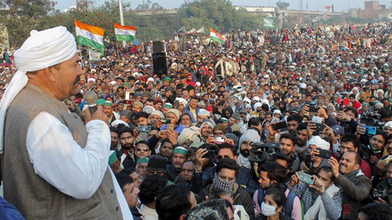 Bku lokshakti resumed agitation