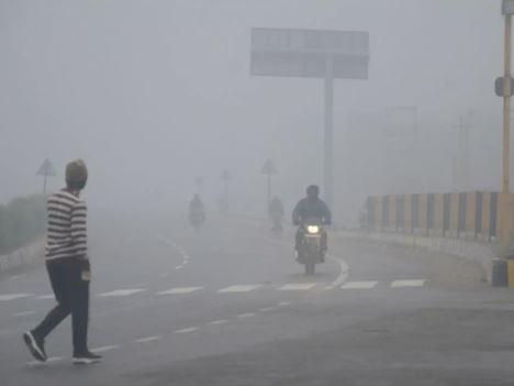 North India Dense Fog