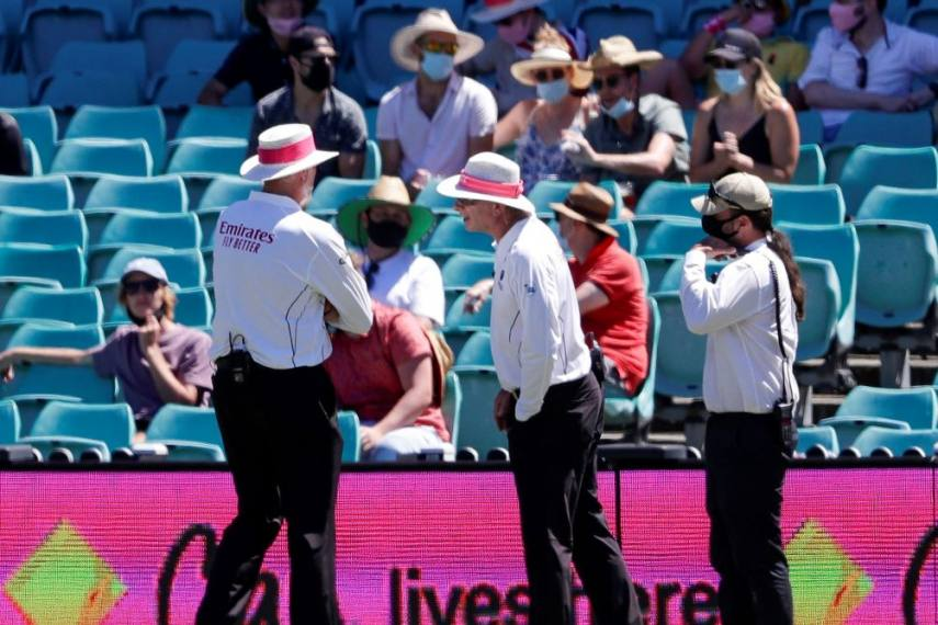 Racial attack on India players again
