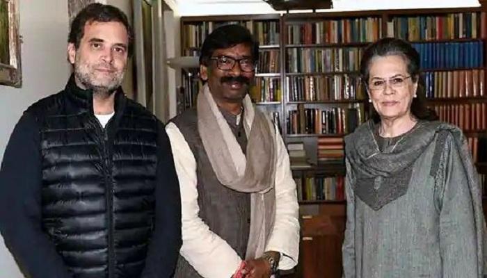 Jharkhand cm hemant soren meets