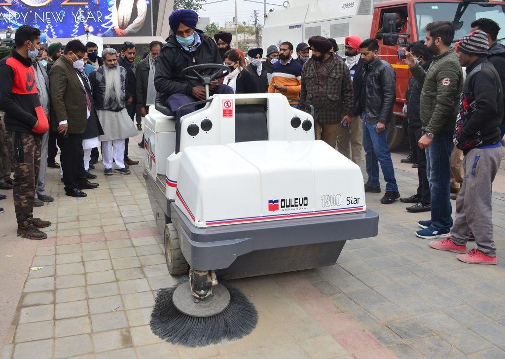 ludhiana clean machines minister ashu