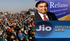 Farmers protest reliance statement