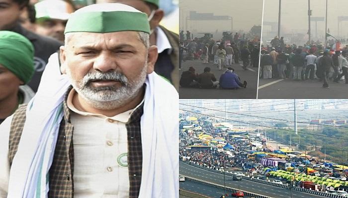 Ghazipur border farmers protest