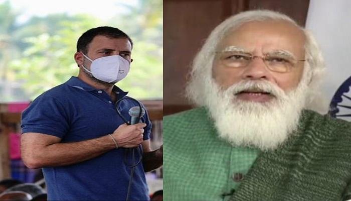 Rahul Gandhi slams Pm Modi