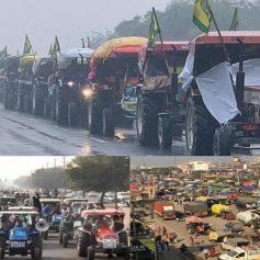 Delhi farmers protest live