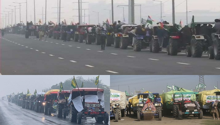 Farmers protest 52nd day
