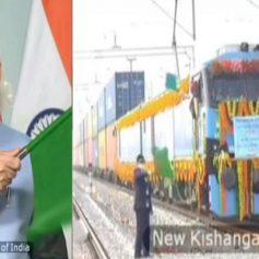 Pm modi inaugurates 306 km rewari