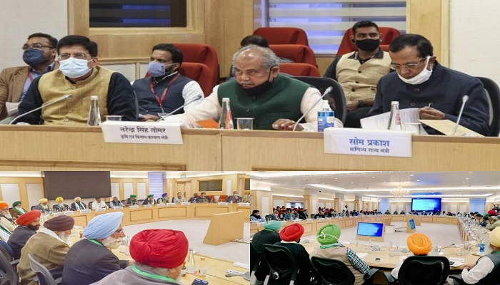 Farmer protest govt talk