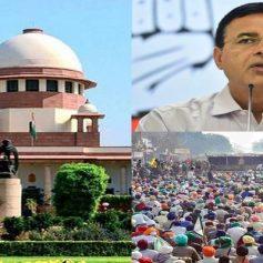 Farmers protest randeep surjewala