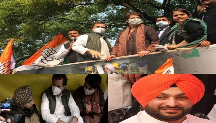 Delhi police detains congress mps