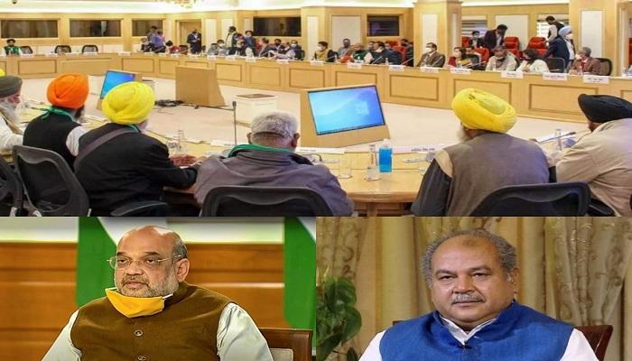 Government farmer groups talks